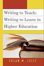 Writing to Teach