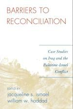 Barriers to Reconciliation