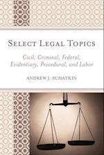 Select Legal Topics