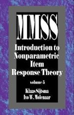 Introduction to Nonparametric Item Response Theory (MEASUREMENT METHODS FOR THE SOCIAL SCIENCES, nr. 5)