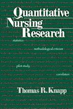Quantitative Nursing Research