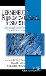 Hermeneutic Phenomenological Research (Methods in Nursing Research)