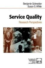 Service Quality (Foundations for Organizational Science)