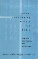 Social Accounting Matrix for India