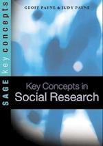 Key Concepts in Social Research af Geoff Payne, Judy Payne