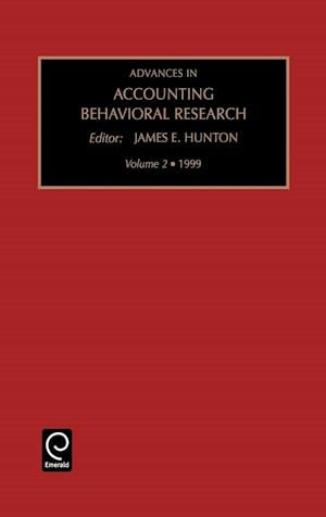 Advances in Accounting Behaviour