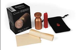 Bog, ukendt format Game of Thrones: Hand of the King Wax Seal Kit af Running Press
