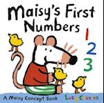 Maisy's First Numbers (Maisy)