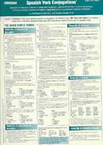 Spanish Verbs Conjugation Card (Foreign Language Verb Conjugation)