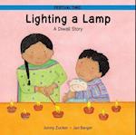 Lighting a Lamp (Festival Time)