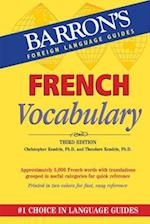 French Vocabulary (Barron's foreign language vocabulary)