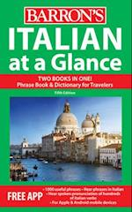 Italian at a Glance (At a Glance Series)