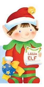 Little Elf (Mini People Shape Books)