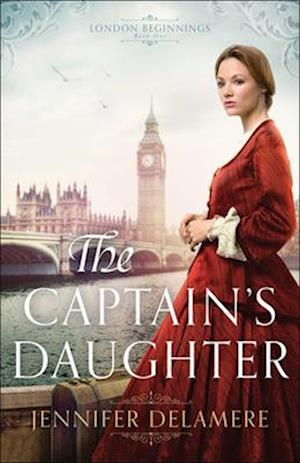 Bog, paperback The Captain's Daughter af Jennifer Delamere