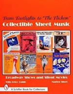 Collectible Sheet Music from Footlights to the