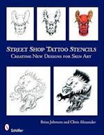 Street Shop Tattoo Stencils af Chris Alexander, Brian Johnson