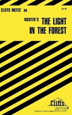 CliffsNotes on Richter's The Light in The Forest af Mary Ellen Snodgrass
