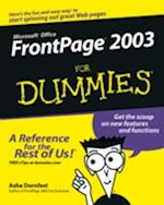 FrontPage 2003 for Dummies af Asha Dornfest