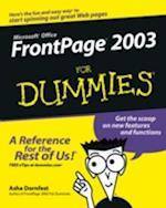 FrontPage 2003 for Dummies af Asha Dornfest