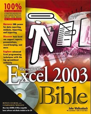 Excel 2003 Bible af John Walkenbach