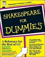 Shakespeare For Dummies (For Dummies S)