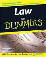 Law for Dummies, 2nd Edition (For Dummies S)