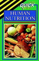 CliffsQuickReview Human Nutrition