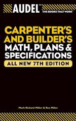 Audel Carpenter's and Builder's Math, Plans, and Specifications (AUDEL TECHNICAL TRADES SERIES)