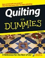 Quilting for Dummies (For dummies)