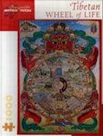 Puzzle-Tibetan Wheel of Life (Pomegranate Artpiece Puzzle)