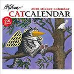 Kliban/Catcalendar 2018 Sticker Calendar
