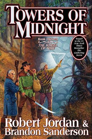 Bog, hardback Towers of Midnight af Brandon Sanderson, Robert Jordan