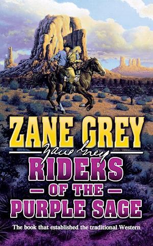 Bog, hæftet RIDERS OF THE PURPLE SAGE af Zane Grey