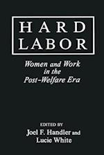 Getting Real about Work for Low-Income Women af Joel F. Handler, Jay D. White