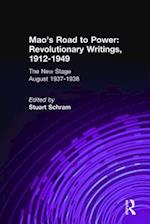 Mao's Road to Power: Revolutionary Writings, 1912-49: v. 6: New Stage (August 1937-1938) af Zedong Mao