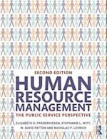 Human Resource Management : The Public Service Perspective