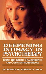 Deepening Intimacy in Psychotherapy