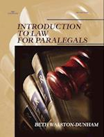 Introduction to Law for Paralegals (The West Legal Studies Series)