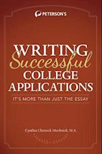 Peterson's Writing Successful College Applications (Petersons Writing Successful College Applications)