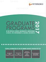 Peterson's Graduate Programs in Physical Sciences, Mathematics, Agricultural Sciences, Environment & Natural Resources 2017 (PETERSON'S GRADUATE PROGRAMS IN THE PHYSICAL SCIENCES, MATHEMATICS, AGRICULTURAL SCIENCES, THE ENVIRONMENT & NATURAL RESOURCES)