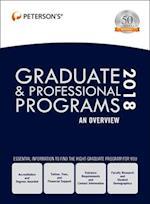 Peterson's Graduate & Professional Programs 2018 (Peterson's Graduate & Professional Programs : an Overview)