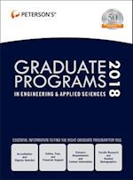 Peterson's Graduate Programs in Engineering & Applied Sciences 2018 (PETERSON'S GRADUATE PROGRAMS IN ENGINEERING & APPLIED SCIENCES)