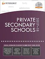Peterson's Private Secondary Schools 2017-18 (PRIVATE SECONDARY SCHOOLS)