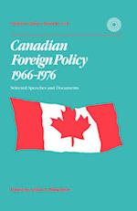 Canadian Foreign Policy, 1966-1976 (Carleton Library Series)
