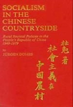 Socialism in the Chinese Countryside af Jurgen Domes