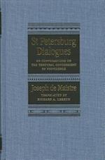 St Petersburg Dialogues af Joseph De Maistre