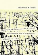 Motivational Dimensions in Social Movements and Contentious Collective Action