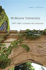 McMaster University, Volume 3 af James G. Greenlee