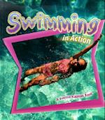 Swimming in Action (Sports in Action Hardcover)