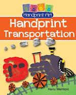 Handprint Transportation (Handprint Art)